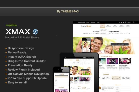Xmax Responsive Wordpres Theme
