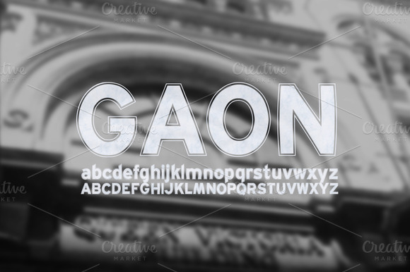 Font GAON
