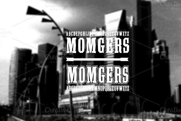 Font 2 Fonts Momgers College