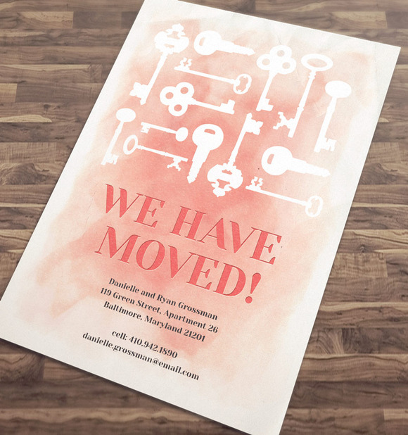 We Have Moved Announcement Template