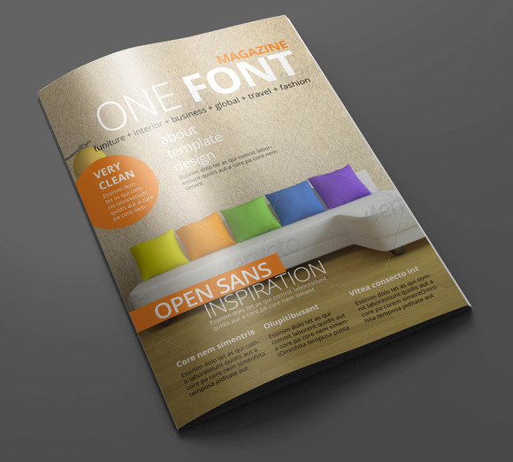 Magazine Editorial Template 01