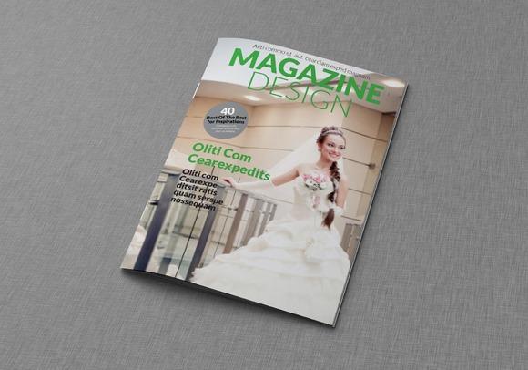Magazine Editorial Template 02