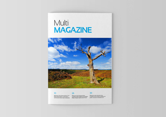 Magazine Editorial Template 04