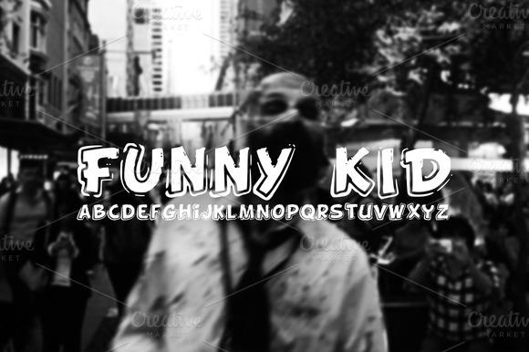 FONT Funny Kid 3 FONTS
