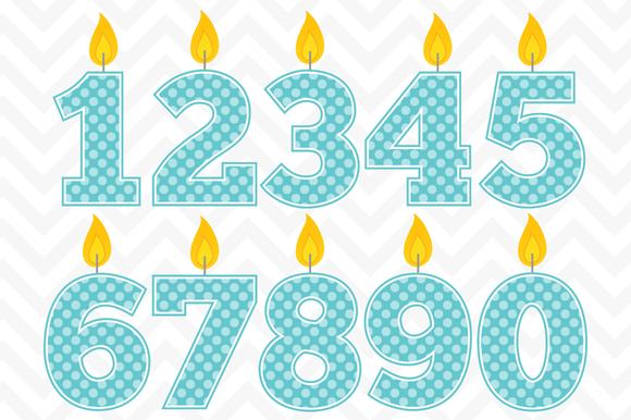 Clip Art Vector Birthday Candles