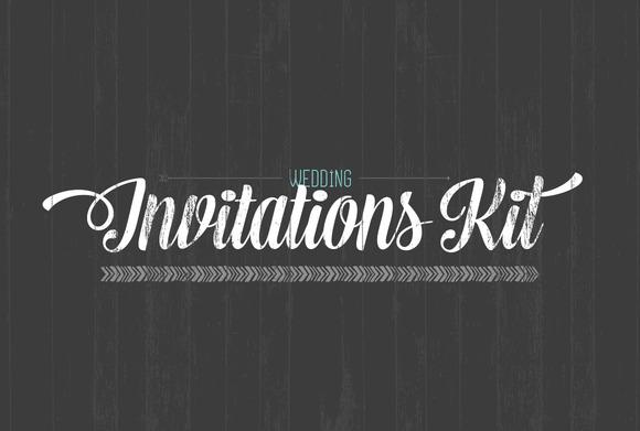 Wedding Invitation Starter Kit