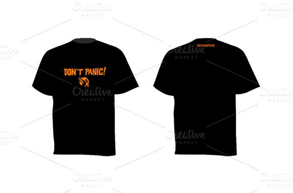 T-shirt Don T Panic