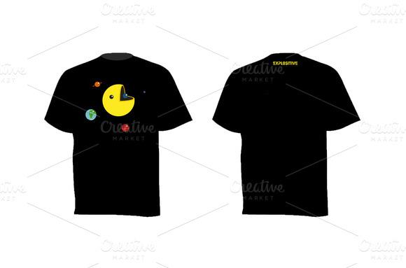 T-shirt The Dark Side Of The Sun