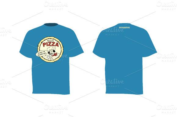 T-shirt Panucci S Pizza