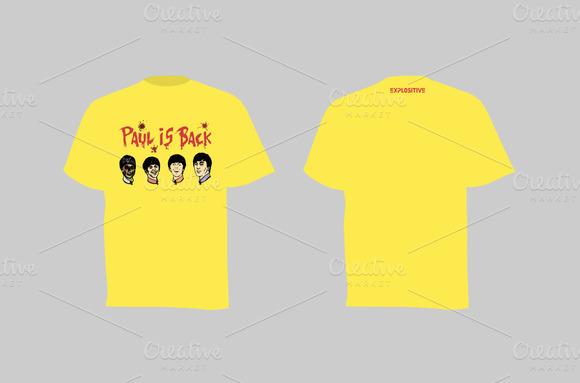 T-shirt Paul Is Back