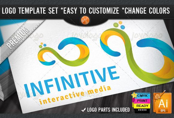 Creative Match Loop 3D Infinity Logo