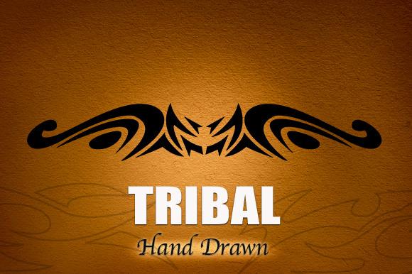 Tribal Hand Drawn