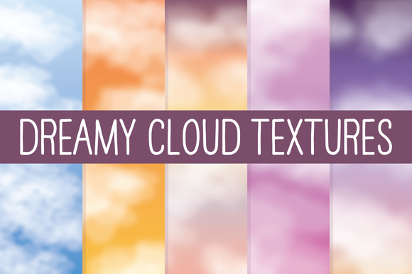 Dreamy Cloud Textures