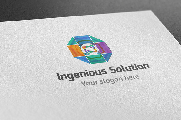 Ingenious Solution Logo