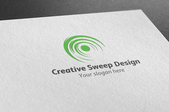 Creative Sweep Design Logo