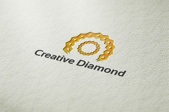 Creative Diamond Logo