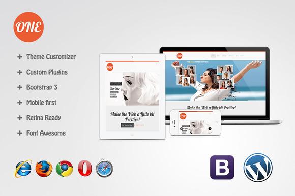 One WordPress Multipurpose Theme