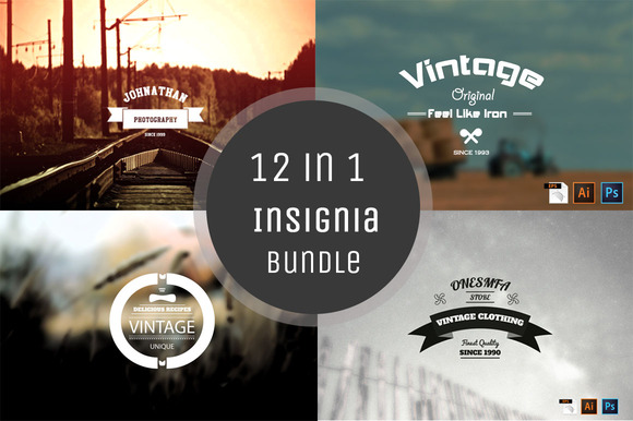 12 In 1 Insignia Bundle