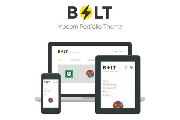 Bolt Modern Portfolio Theme