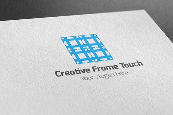 Creative Frame Touch Logo