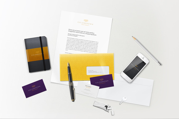 Lively Branding Identity Mock-up