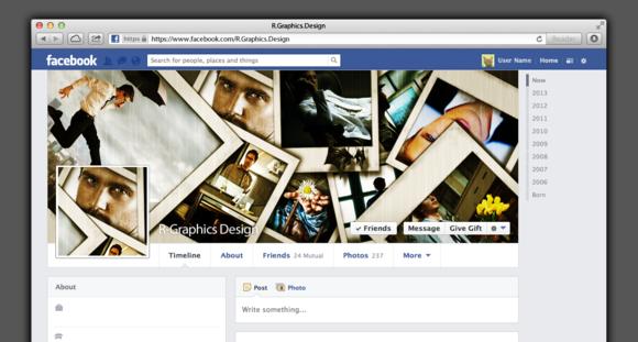 FB Timeline Cover- Photo Frames