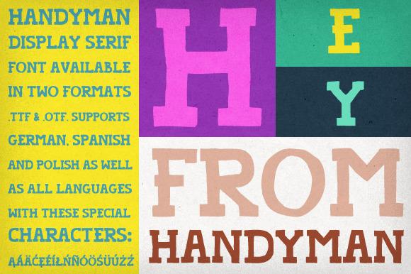 Handyman Font