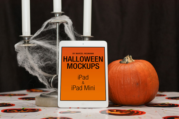 Halloween IPad IPad Mini Mockups