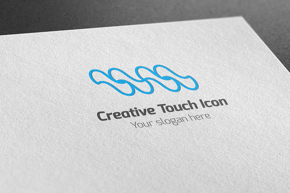 Creative Touch Icon Logo