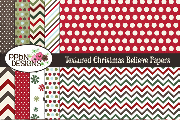 Textured Christmas Papers