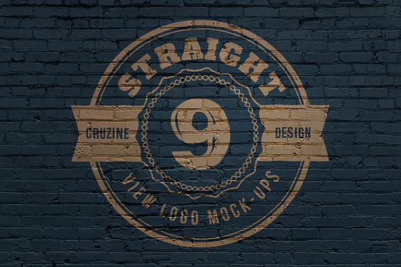 Straight View Logo Mock-ups