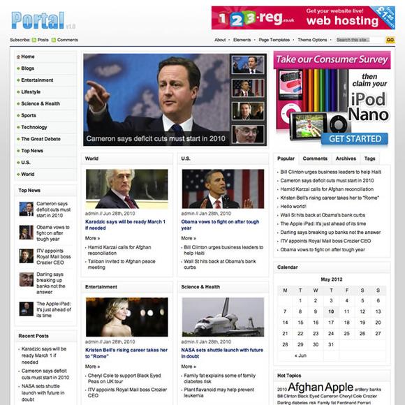Portal WordPress Magazine Theme