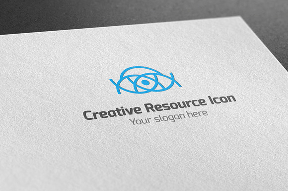 Creative Resource Icon Logo