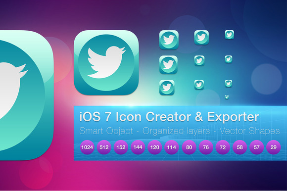 IOS 7 App Icon Creator And Exporter