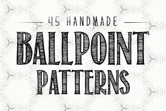 45 Ballpoint Patterns
