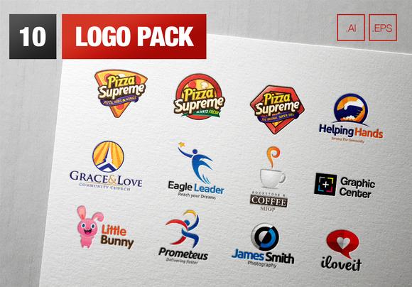 10 Logo Pack