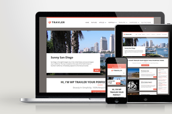 Travler Responsive WordPress Theme