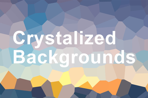 Crystalized Backgrounds