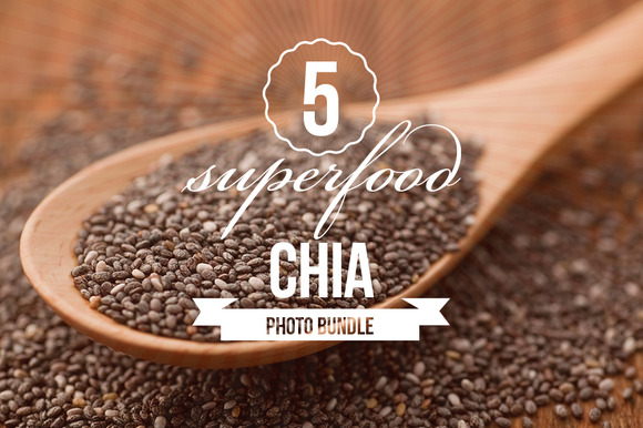 Superfood Chia Photo Bundle Of 5