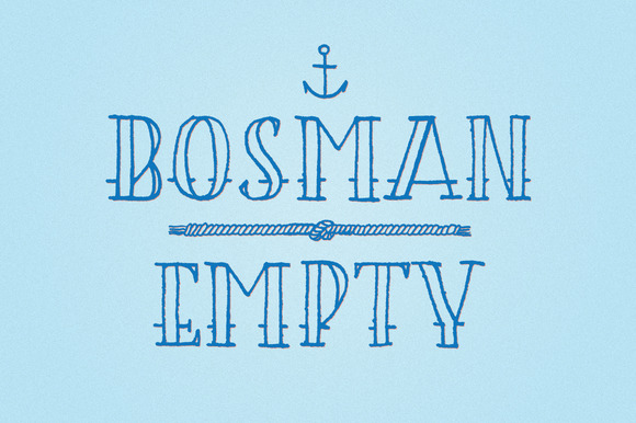 BOSMAN Empty
