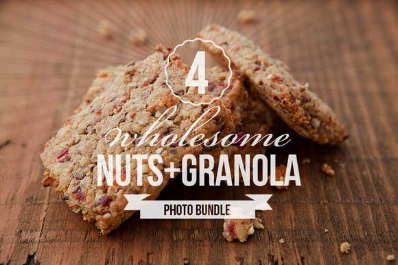Wholesome Granola Photo Bundle Of 4