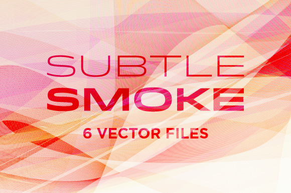 Subtle Smoke Vectors