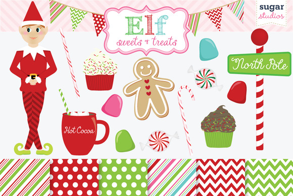 Elf Holiday Sweets And Treats