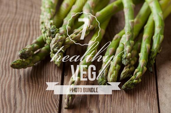 Healthy Veg Photo Bundle Of 7