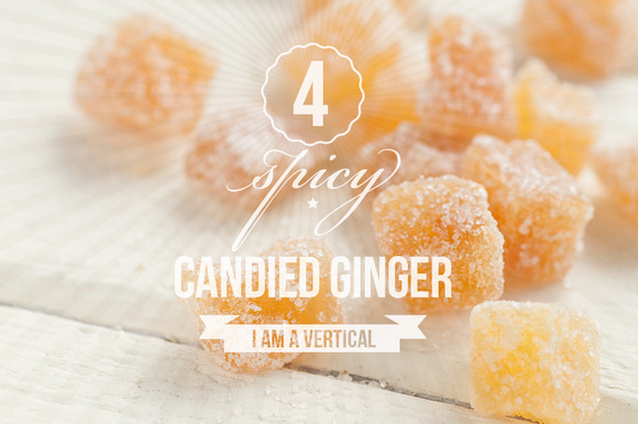 Candied Ginger Photo Bundle Of 4