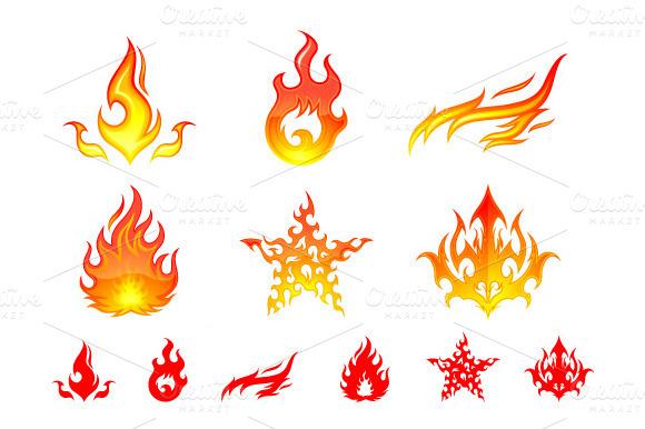 Fire Element Symbols