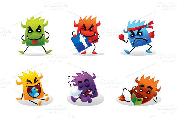 Cute Beast Characters