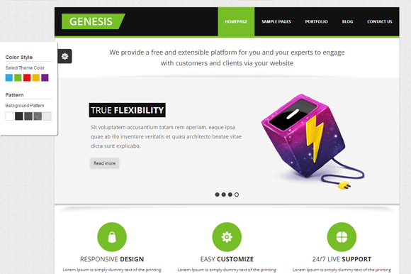 Genesis Business Themes