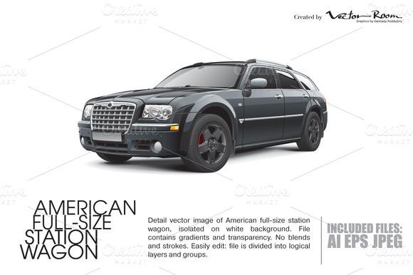 American Full-Size Station Wagon