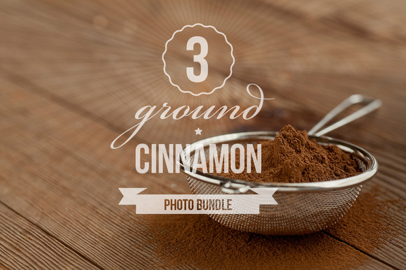 Ground Cinnamon Photo Bundle Of 3